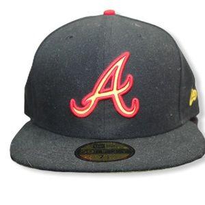 MLB Atlanta Braves  Fitted hat